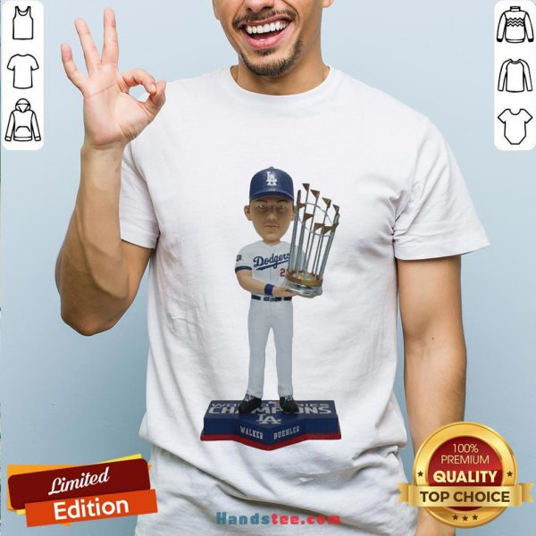 Happy Walker Buehler Los Angeles Dodgers 2020 World Series Champions Gift T-Shirts- Design By Handstee.com