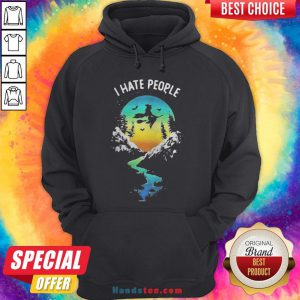 Witch Go Camping I Hate People Halloween Hoodie - Design By Handstee.com