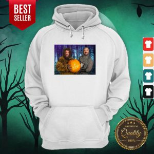 Marc And Fausto Wedding Monsters Pumpkin Halloween Hoodie