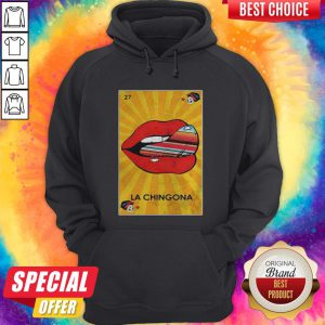 Awesome La Chingona Lips Hoodie