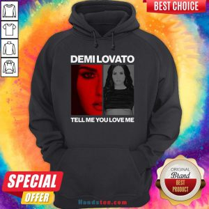 Pretty Demi Lovato Tell Me You Love Me Hoodie - Design By Handstee.com