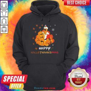 Scooby Doo Happy Hallothanksmas Christmas Halloween Hoodie - Design By Handstee.com