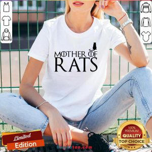 Hot Game Of Thrones Mother Of Rats V-neck- Design By Handstee.com