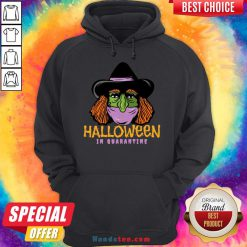 Hot Halloween In Quarantine Hoodie- Design By Handstee.com