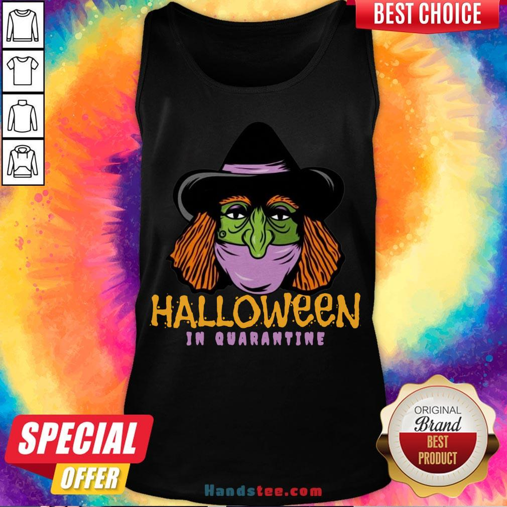 Hot Halloween In Quarantine  Tank Top- Design By Handstee.com