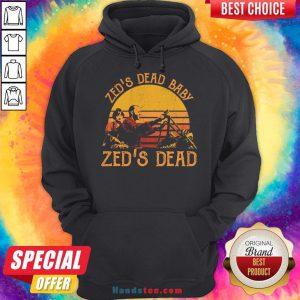 Hot Zed's Dead Baby Zed's Dead Vintage Hoodie- Design By Handstee.com