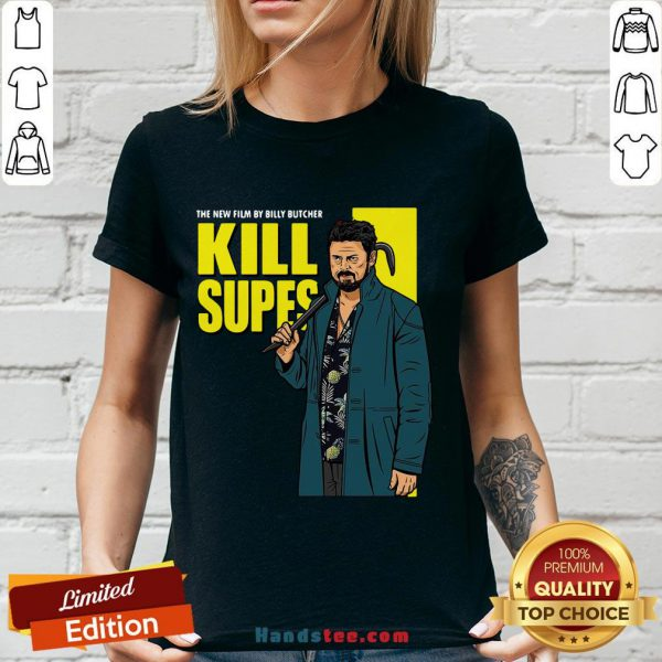 Nice The New Film By Billy Butcher Kill Supes V-neck- Design By Handstee.com