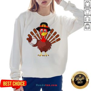 Original Turkey Baseball Thanksgiving 2020 Sweatshirt- Design By Handstee.com