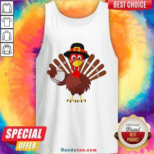 Original Turkey Baseball Thanksgiving 2020 Tank Top- Design By Handstee.com