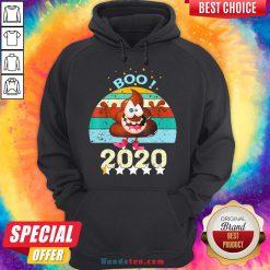 Perfect Boo Poop 2020 Vintage Hoodie- Design By Handstee.com