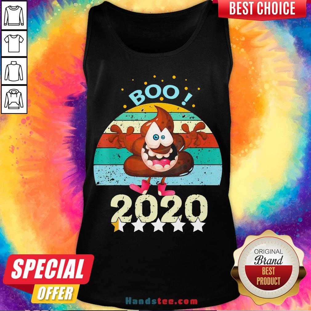 Perfect Boo Poop 2020 Vintage Tank Top- Design By Handstee.com