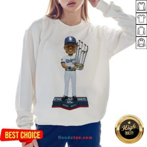 Perfect Mookie Betts Los Angeles Dodgers 2020 World Series Champions Sweatshirt- Design By Handstee.com