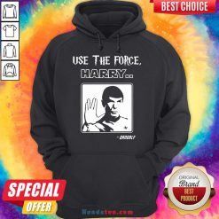 Premium Use The Force Harry Gandalf Star Trek Hoodie- Design By Handstee.com