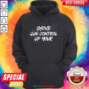 Pretty Shove Gun Control Up Your Horse Hoodie- Design By Handstee.com