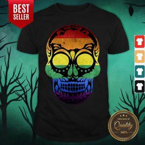 Dia De Los Muertos Steampunk Sugar Skull Halloween Shirt