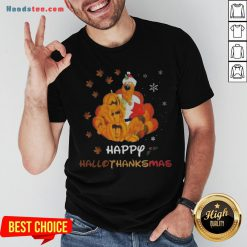 Scooby Doo Happy Hallothanksmas Christmas Halloween Shirt - Design By Handstee.com