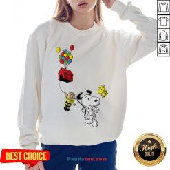 Snoopy And Charlie Brown Woodstock Balloon Sweatshirt - Design By Handstee.com