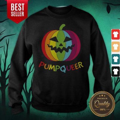 Halloween LGBT Rainbow Pumpkin Apparel Sweatshirt