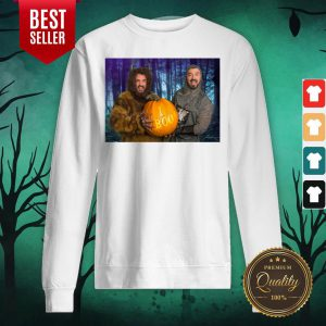 Marc And Fausto Wedding Monsters Pumpkin Halloween Sweatshirt