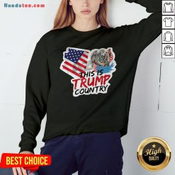 This Is Trump Country Supporter Arizona Political America Flag Sweatshirt - Design By Handstee.com