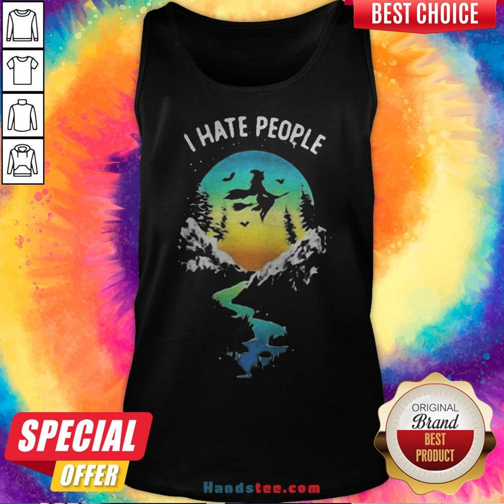 Witch Go Camping I Hate People Halloween Tank Top - Design By Handstee.com