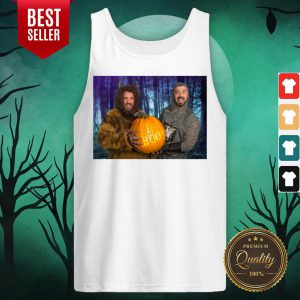 Marc And Fausto Wedding Monsters Pumpkin Halloween Tank Top