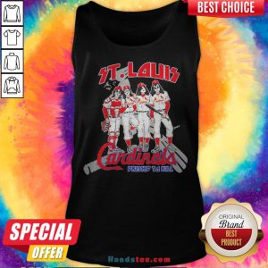 Nice St.Louis Cardinals Dressed To Kill Tank Top - Design By Handstee.com
