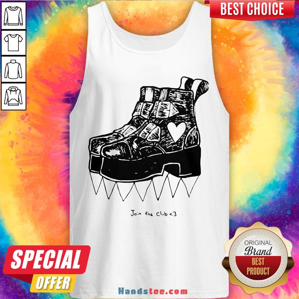 Top Deathstud Boots Join The Club Official Tank Top- Design By Handstee.com