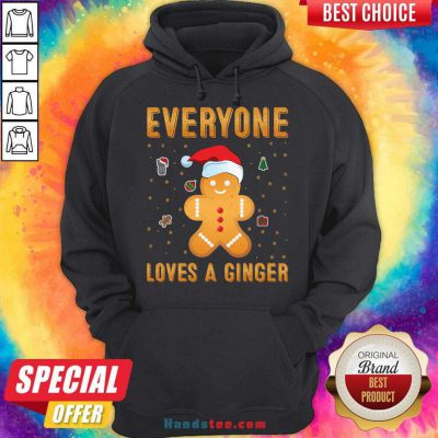 Awesome Everyone Loves A Ginger Hoodie- Design By Handstee.com