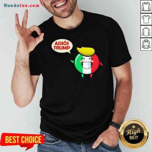 Awesome Italy Adios Trump Shirt- Design By Proposetees.com