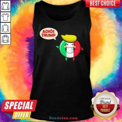 Awesome Italy Adios Trump Tank-Top- Design By Proposetees.com
