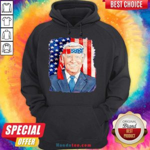 Awesome Joe Biden For President 46 Election 2020 American Flag Hoodie- Design By Handstee.com