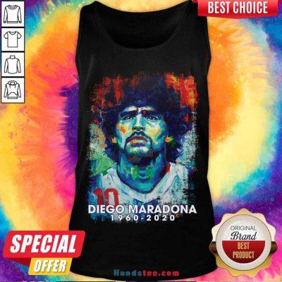 Retro Vintage Diego Maradona 1960-2020 Tank-Top- Design By Handstee.com
