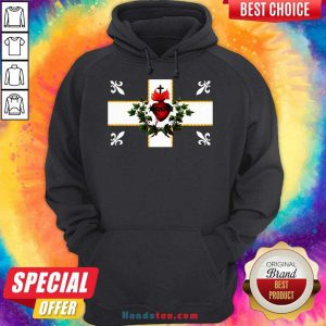 Awesome Sweat Canada Sacre Coeur Carillon Catholique Francais Flag Royal Quebec Hoodie- Design By Handstee.com