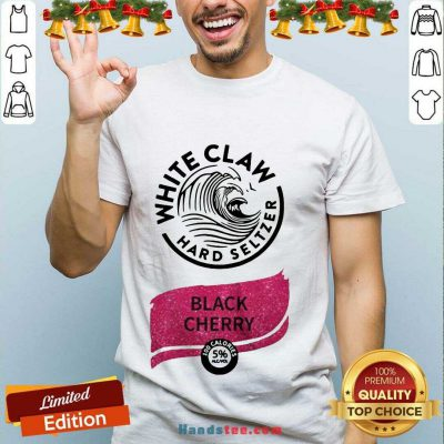 Awesome White Claw Hard Seltzer Black Cherry Shirt- Design By Handstee.com