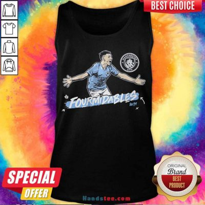 Manchester City Formidables Tank-Top- Design By Handstee.com