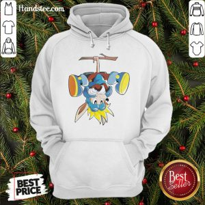 Funny Sonic Monkey Rocket Knight Hoodie- Design By Handstee.com