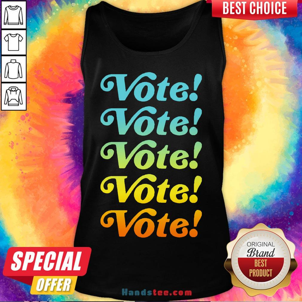 Good Harry Styles Don't Trip Vote Tank Top- Design By Handstee.com
