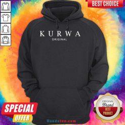 Happy Kurwa Original Hoodie- Design By Handstee.com