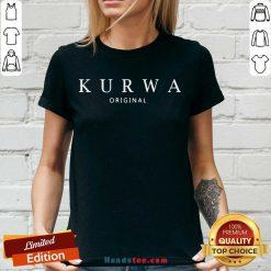 Happy Kurwa Original V-neck- Design By Handstee.com