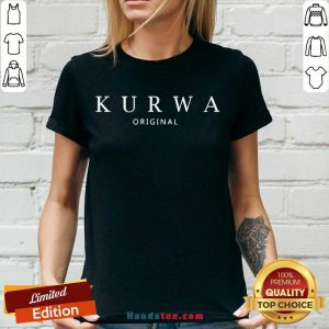 Happy Kurwa Original V-neck- Design By Handstee.com
