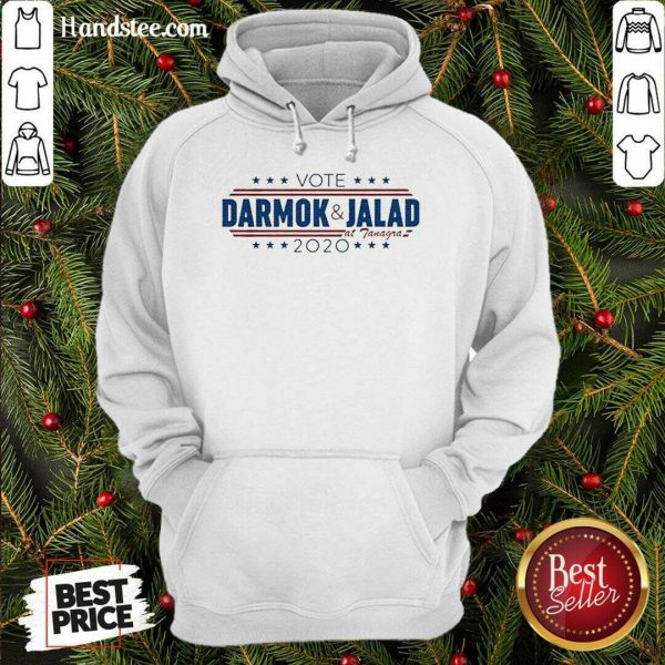Happy Vote Darmok And Jalad At Tanagra 2020 Hoodie- Design By Handstee.com