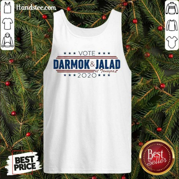 Happy Vote Darmok And Jalad At Tanagra 2020 Tank Top- Design By Handstee.com