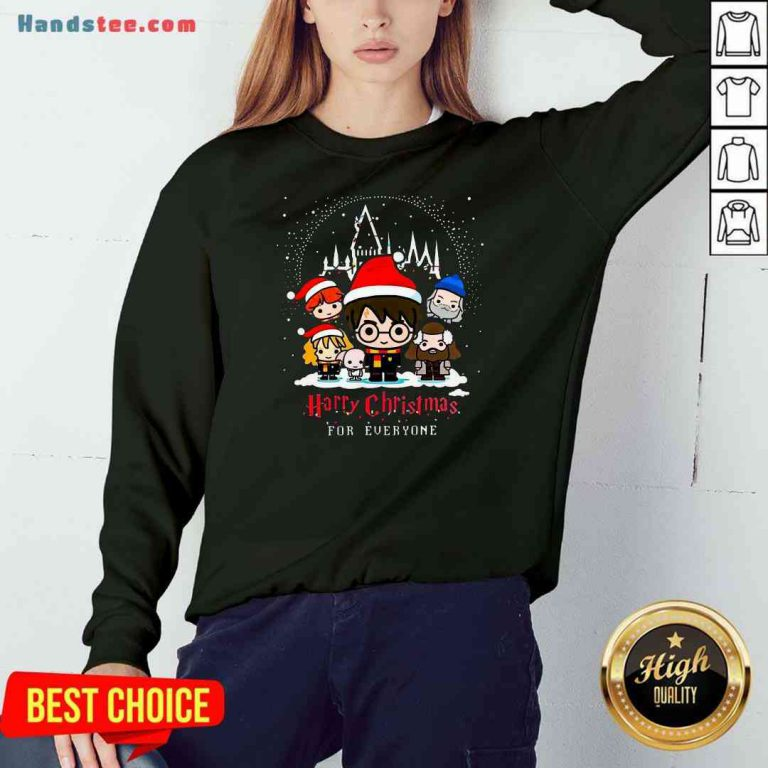 Nice Harry Potter Harry Christmas For Everyone Sweatshirt- Design By Proposetees.com