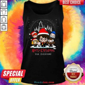Nice Harry Potter Harry Christmas For Everyone Tank-Top- Design By Proposetees.com