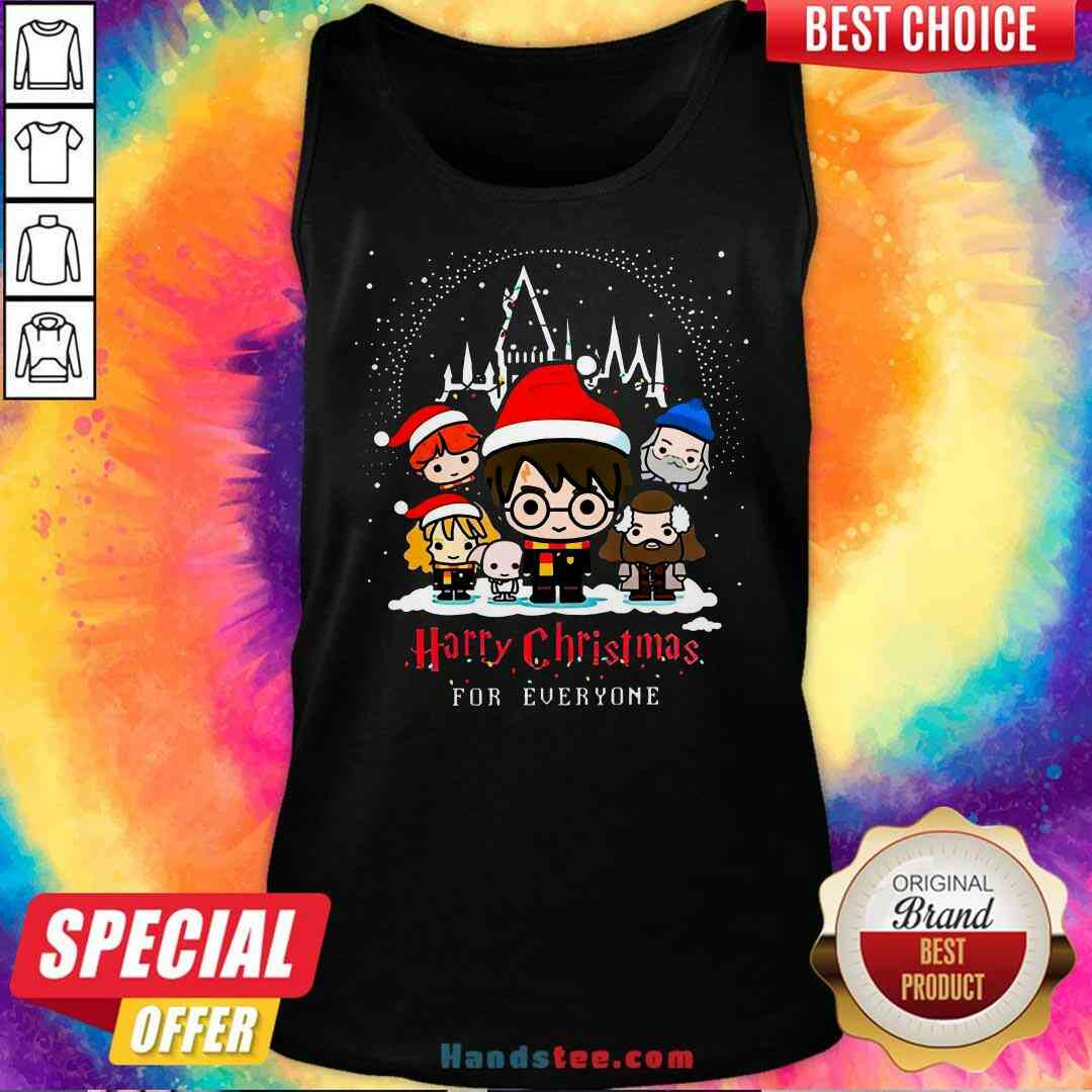 Nice Harry Potter Harry Christmas For Everyone Tank-Top- Design By Handstee.com