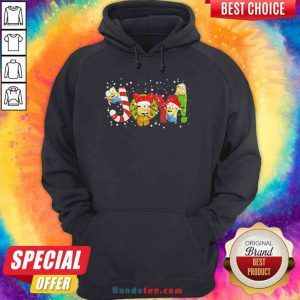 Nice Minions Joy Christmas Hoodie- Design By Proposetees.com