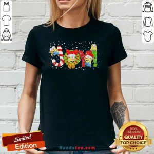 Nice Minions Joy Christmas V-neck- Design By Proposetees.com