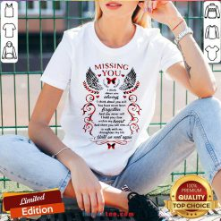 Nice Missing You I Think About You Always I Think About You Still V-neck- Design By Handstee.com
