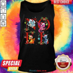 Nice Noel Funny Dragon And Christmas Tank-Top- Design By Proposetees.com
